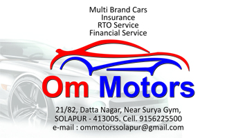 OM MOTORS | SolapurMall.com